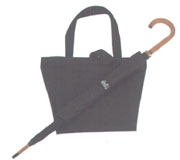 Tote Bag + Matching color High grade Umbrella