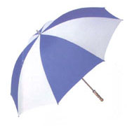 GOLF UMBRELLA IS GREAT FOR KING SIZE PEOPLE AND BE A GOOD PROMOTION ITEM.