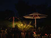 ROMANTIC LIGHT UP GARDEN UMBRELLA TO MAKE YOUR COMPANY SPECIAL !!