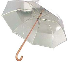 TWO DIFFERENT COLOR PVC UMBRELLA