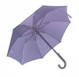 "24""X8K AUTO OPEN FIBER GLASS + WIND PROOF PATENTED STICK UMBRELLA."